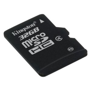 Carte memoire 32Go MicroSDHC Classe 4 sans adapteur de Kingston