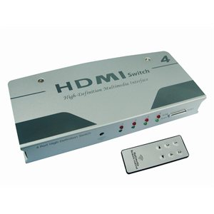 PPA 4-PORT HDMI SWITCH