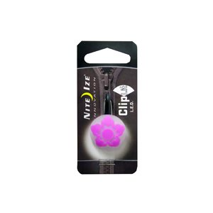 CLIPLIT DESIGNS - FUCHSIA WILD FLOWER/WHITE LED