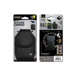 CLIP CASE CARGO WIDE - BLACK