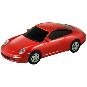 4GB USB PORSCHE 911 RED AUTODRIVE   ENGLISH ONLY