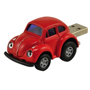 4GB USB VW BEETLE RED AUTODRIVE     ENGLISH ONLY