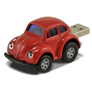 8GB USB BEETLE RED AUTODRIVE