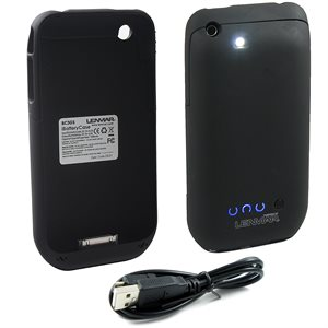 LENMAR IBATTERYCASE - EXTERNAL BATTERY & PROTECTIVE CASE FOR IPHONE 3G/3GS