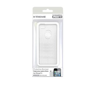 XTREME PROTECTIVE BUMPER CASE FOR THE IPHONE 5 WHITE