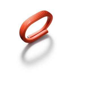 Bracelet Jawbone UP24 ''Fitness Tracker'', large - persimmon