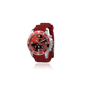 MYKRONOZ ZECLOCK - SMART WATCH - RED