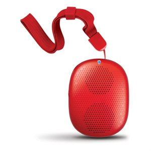 ISOUND Mini haut parleur sans-fil Bluetooth POP DROP - Rouge