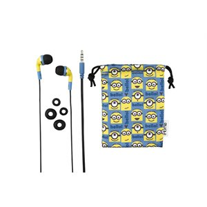 EKIDS MINIONS UI-M15MS.FX EARBUDS WITH POUCH BILINGUAL