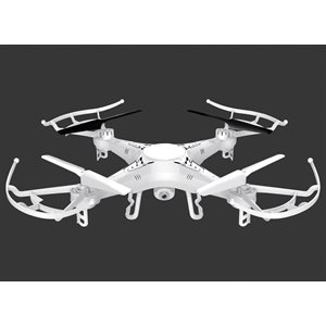 XTREME 6 AXIS QUADCOPTER DRONE WITH HD CAMERA & 4GB Micro SD card **WHITE**