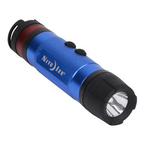 NITE IZE NL1A-03-R7 3-IN-1 LED MINI FLASHLIGHT - BLUE