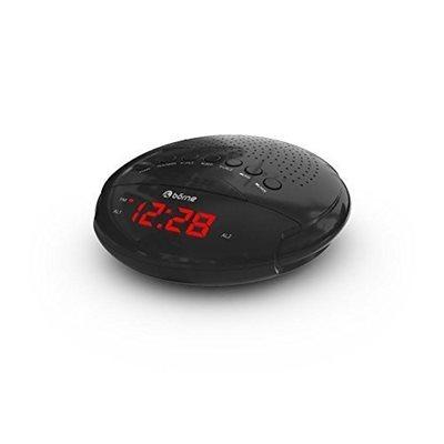 borne cr630d digital am fm clock radio 0 6 39 39 led displaydual alarm battery back up. Black Bedroom Furniture Sets. Home Design Ideas
