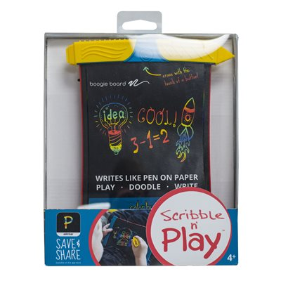 BOOGIE BOARD SCRIBBLE & PLAY LCD EWRITER - TRILINGUAL