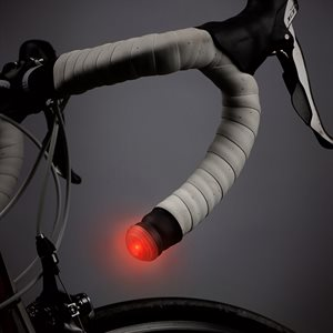 NITE IZE GLT-10-R7 GRIPLIT LED HANDLEBAR LIGHTS - RED