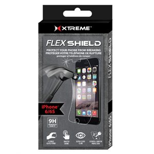 XTREME iPhone 6/6S Flexible Tempered Glass Screen Protector