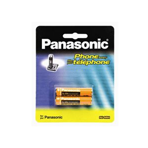 PANASONIC BATTERY for all DECT phones 2 x AAA NiMH