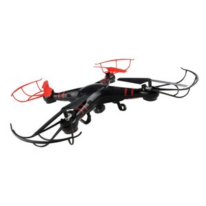 XTREME 6 AXIS QUADCOPTER DRONE WITH HD CAMERA & 4GB Micro SD card **BLACK**