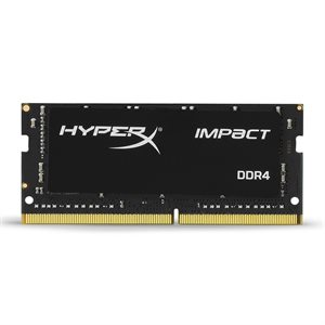 KINGSTON 16GB 2666MHz DDR4 NON-ECC CL15 SODIMM HyperX Impact