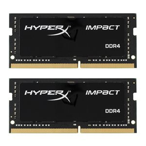 KINGSTON 32GB 2666MHz DDR4 NON-ECC CL15 SODIMM (Kit of 2) HyperX Impact