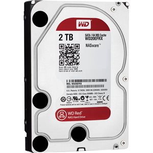 WESTERN DIGITAL WD20EFRX INTERNAL HARD DRIVE 3.5'' 2TB SATA 6GB/S 5400RPM 64MB CACHE