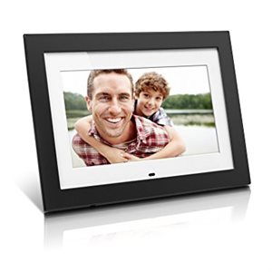 "ALURATEK 10"" Digital Photo Frame with 4GB Built-In Memory and remote (matting)"
