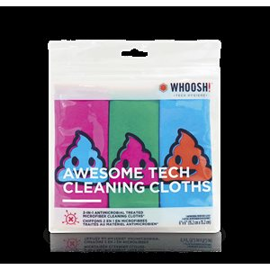 WHOOSH AWESOME TECH CLEANING CLOTHS