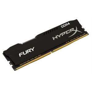 KINGSTON 8GB 2666MHz DDR4 NON-ECC CL16 DIMM 1Rx8 HyperX FURY Black