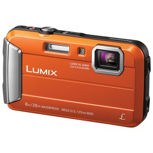 PANASONIC CAMERA DMCTS30D LUMIX ORANGE WATER RES.