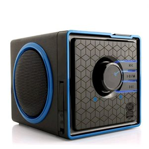 GOGROOVE SONAVERSE BX PORTABLE BLUETOOTH SPEAKER - BLACK