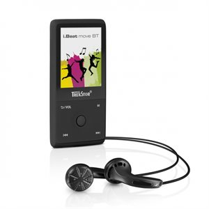 TREKSTOR MP3 I.BEAT MOVE 8GB BLUETOOTH - BLACK