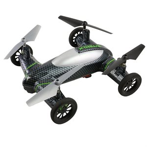 XTREME FLY & DRIVE CARBON FIBER DRONE WITH CAMERA AND MEMORY