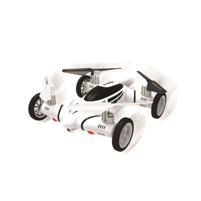 XTREME FLY & DRIVE DRONE WITH CAMERA AND MEMORY**WHITE**