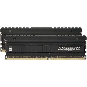 CRUCIAL BALLISTIX 16GB KIT (8GBX2) DDR4 3200 MT/S (PC4-25600) CL15 SR X8 UNBUFFERED DIMM 288PIN