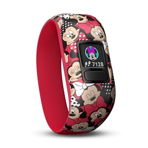 Garmin vivofit jr.2 Stretchy Disney Minnie Mouse (4-7 yrs. old) *WW*