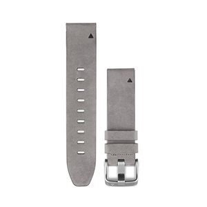 Garmin  QuickFit® 20 Watch Bands, Gray Suede Leather