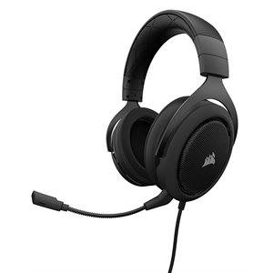 CORSAIR HS60 SURROUND GAMING HEADSET 7.1  CARBON