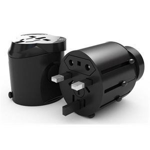 BORNE Universal world travel adapter