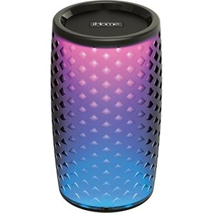 iHome Color Changing Bluetooth Rechargeable Speaker with Speakerphone*BILINGUAL*