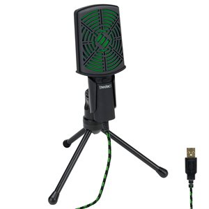 ACCESSORY POWER ENHANCE USB Condenser Microphone *Green*