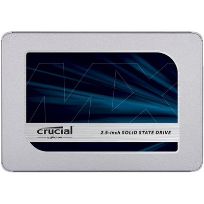 "CRUCIAL 500GB  MX500  SATA 2.5"" 7mm (with 9.5mm adapter) SSD"