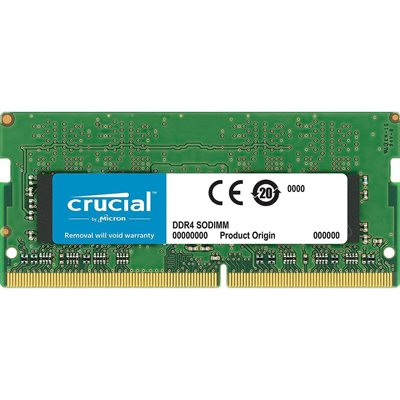CRUCIAL 16GB DDR4 2666 MT/s (PC4-21300) CL19 DR x8 Unbuffered SODIMM 260pin
