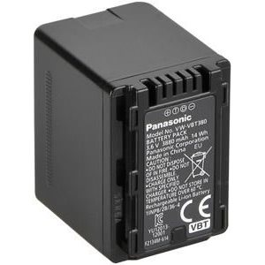 PANASONIC BATTERY VW-VBT380 - Rechargeable Lithium Ion Battery