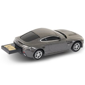 4GB USB ASTON MARTIN SILVER AUTODRIVE   ENGLISH ONLY