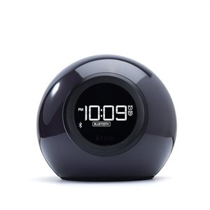 IHOME PHAZE ORB + BT COLOR CHANGING DUAL ALARM CLOCK FM RADIO W/USB CHARGING &SPEAKERPHON