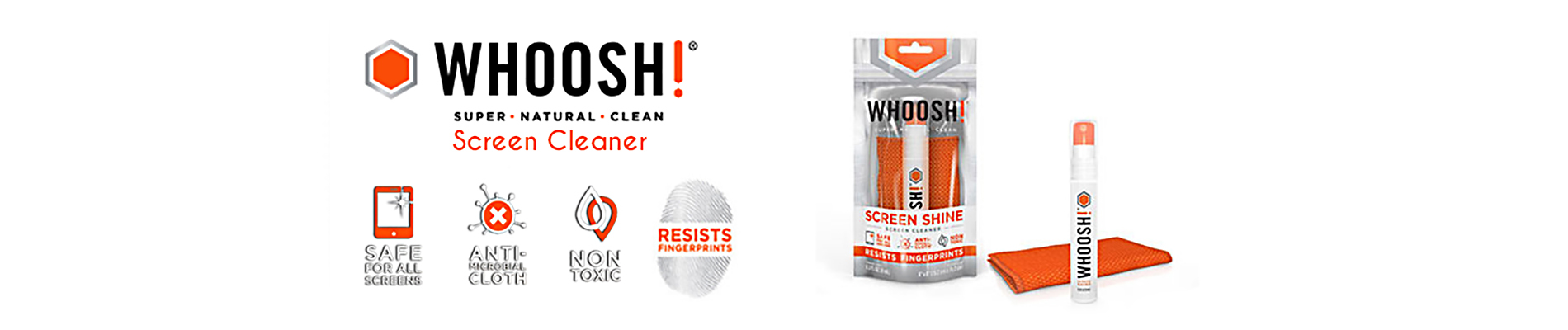 WHOOSH! Screen Cleaner